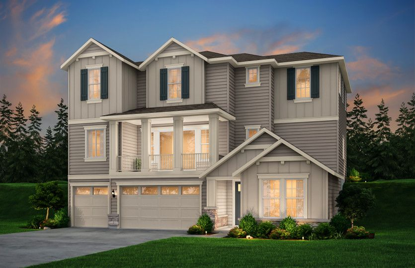 Exterior featured in the Greenwood By Pulte Homes in Seattle-Bellevue, WA