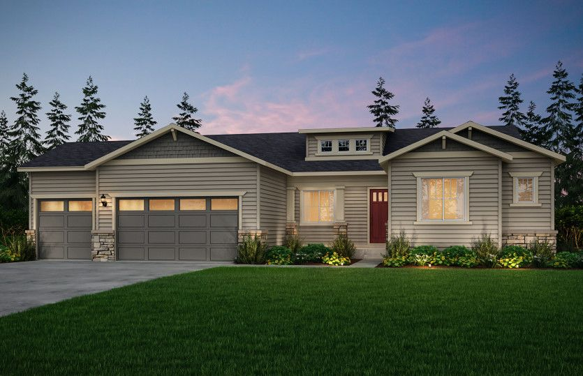Exterior featured in the Endeavor II By Pulte Homes in Seattle-Bellevue, WA