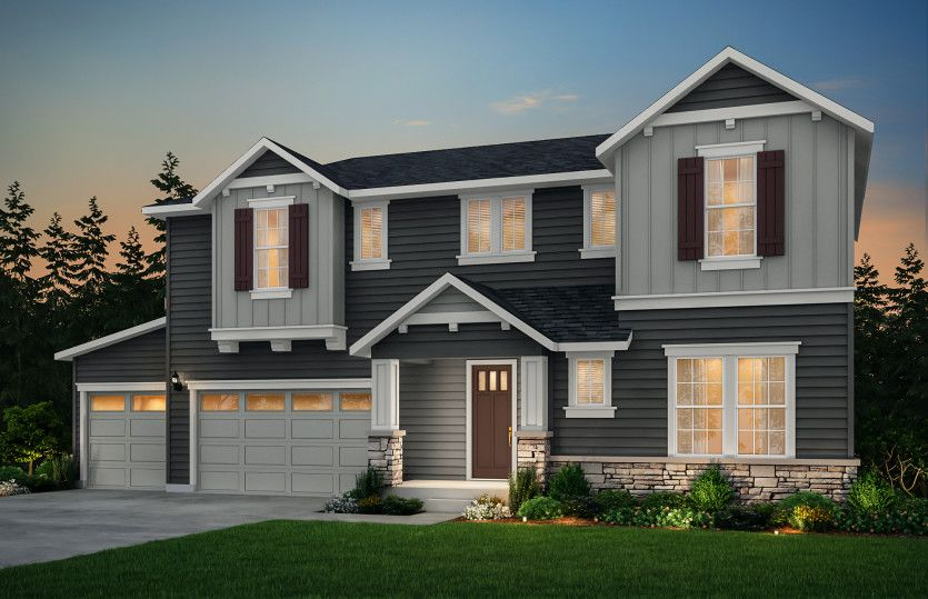 Exterior featured in the Medina By Pulte Homes in Seattle-Bellevue, WA