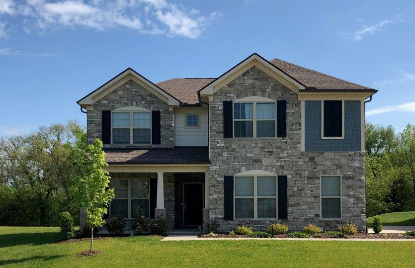 Exterior featured in the Stonebrook II By Pulte Homes in Nashville, TN