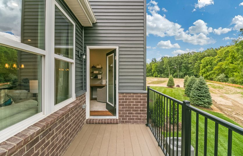 Exterior featured in the Ashton By Pulte Homes in Ann Arbor, MI
