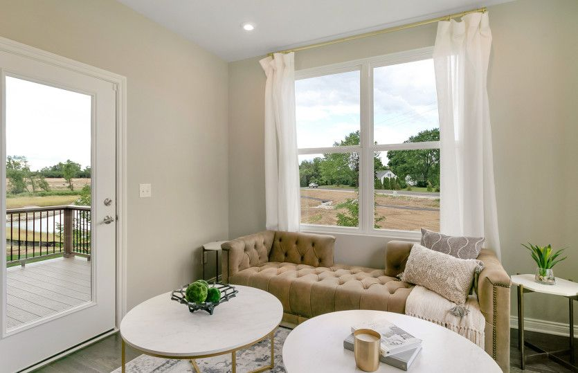 Living Area featured in the Bayport By Pulte Homes in Ann Arbor, MI