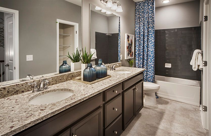 Bathroom featured in the Bowery By Pulte Homes in Bergen County, NJ