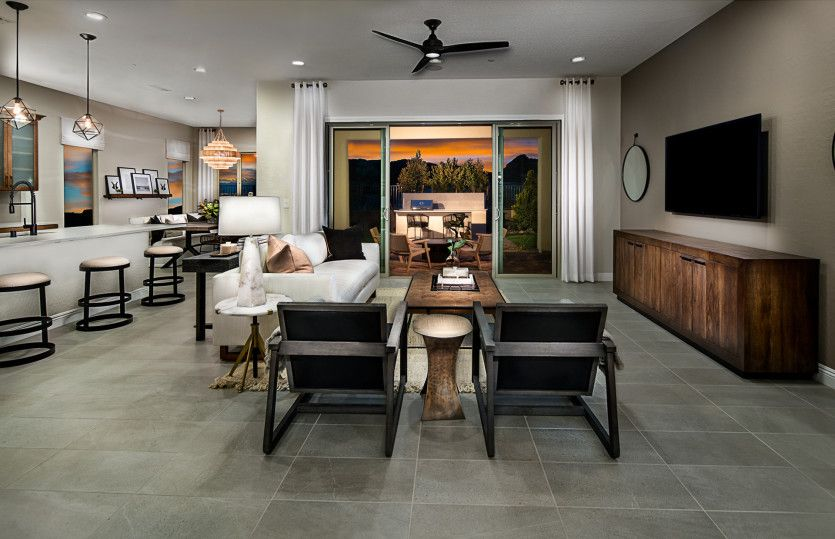 Living Area featured in the Gardengate By Pulte Homes in Las Vegas, NV