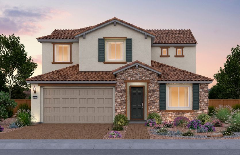 Exterior featured in the Trento By Pulte Homes in Las Vegas, NV