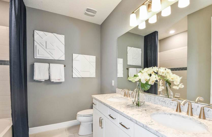 Bathroom featured in the Easley Grand By Pulte Homes in Orlando, FL
