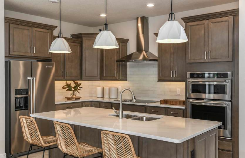 Kitchen featured in the Clearview By Pulte Homes in Orlando, FL