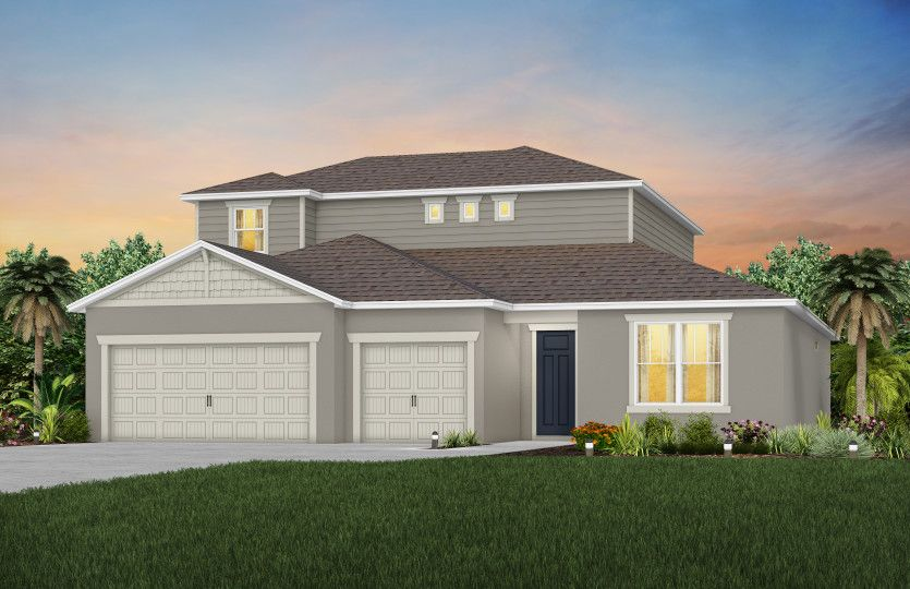 Exterior featured in the Ashby Grand By Pulte Homes in Orlando, FL