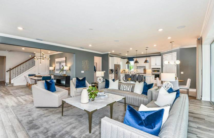 Living Area featured in the Easley Grand By Pulte Homes in Orlando, FL