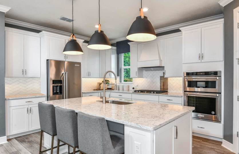 Kitchen featured in the Easley Grand By Pulte Homes in Orlando, FL
