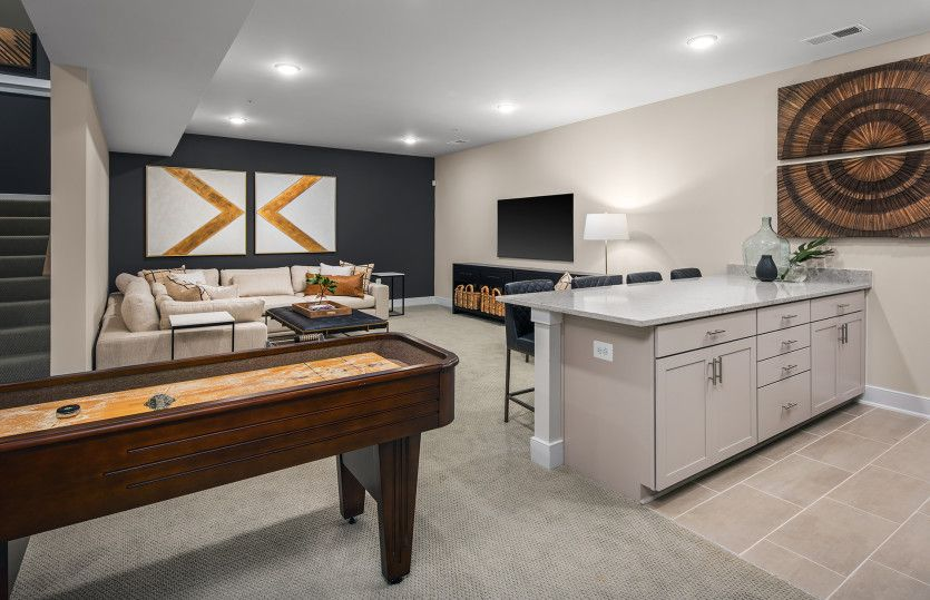 Living Area featured in the Greenview By Pulte Homes in Washington, MD
