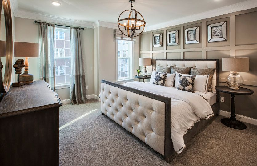 Bedroom featured in the Murray Hill By Pulte Homes in Somerset County, NJ