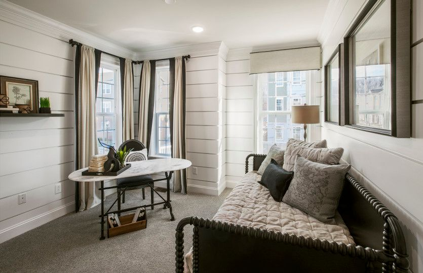 Living Area featured in the Murray Hill By Pulte Homes in Bergen County, NJ