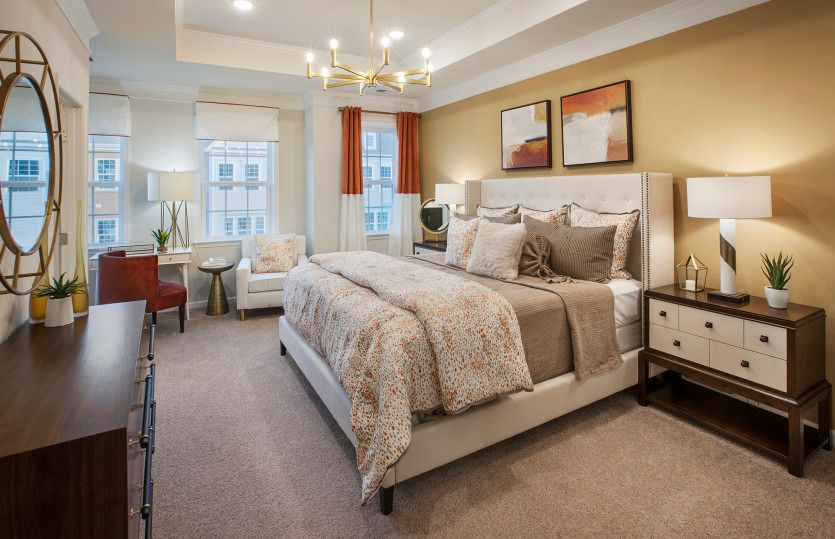 Bedroom featured in the Union By Pulte Homes in Somerset County, NJ