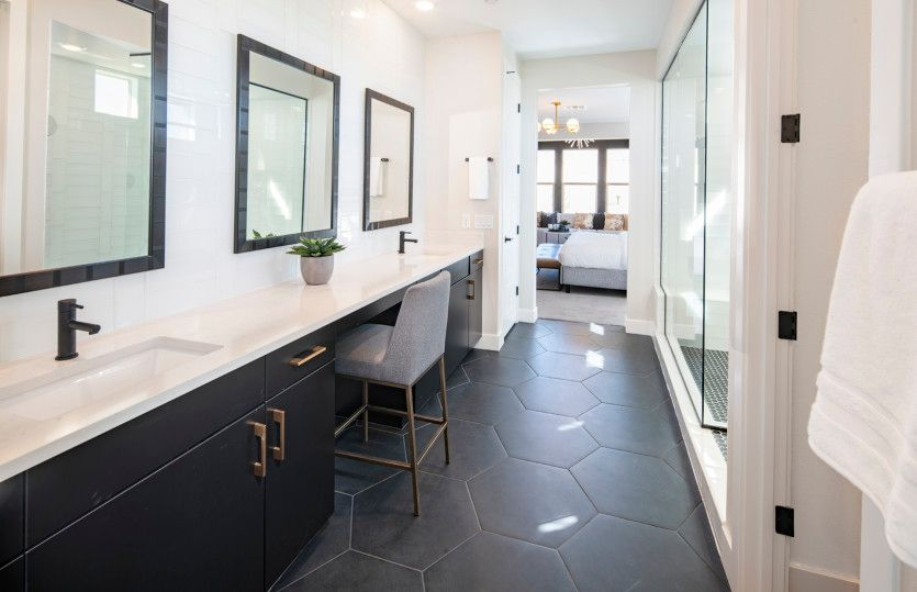 Bathroom featured in the Sanremo By Pulte Homes in Las Vegas, NV