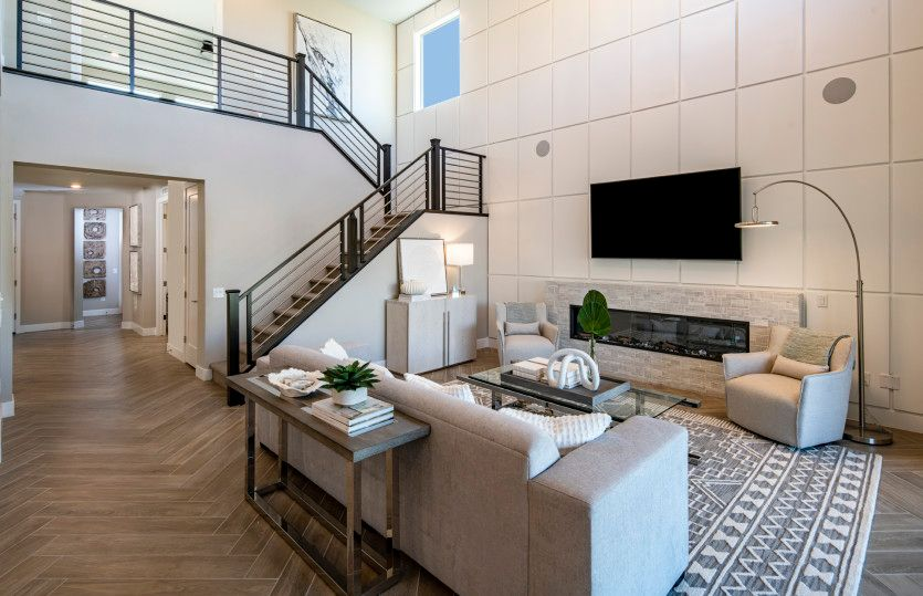 Living Area featured in the Starwood By Pulte Homes in Las Vegas, NV