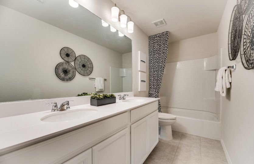 Bathroom featured in the Stockdale By Pulte Homes in Fort Worth, TX
