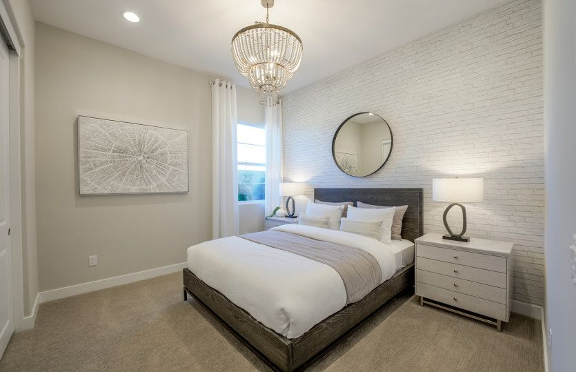 Bedroom featured in the Plan 1 By Pulte Homes in Orange County, CA