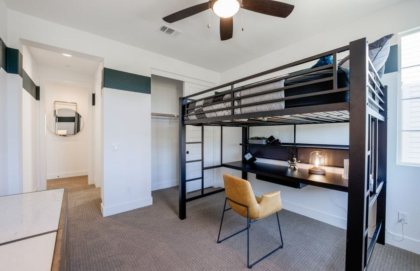 Bedroom featured in the Plan 3 By Pulte Homes in Orange County, CA