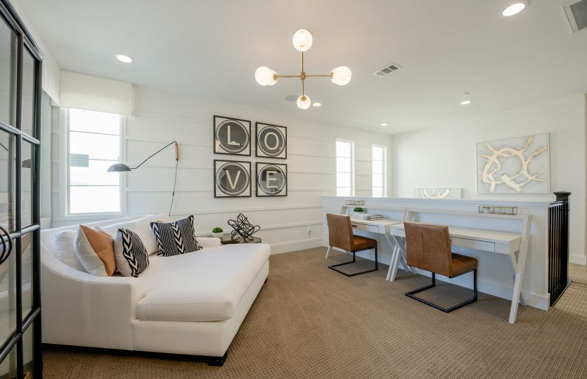 Living Area featured in the Plan 3 By Pulte Homes in Orange County, CA
