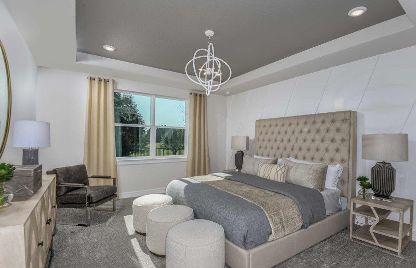 Bedroom featured in the Mystique Grand By Pulte Homes in Tampa-St. Petersburg, FL