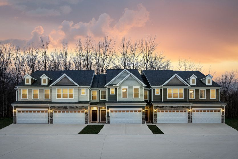 Exterior featured in the Ashton By Pulte Homes in Cleveland, OH