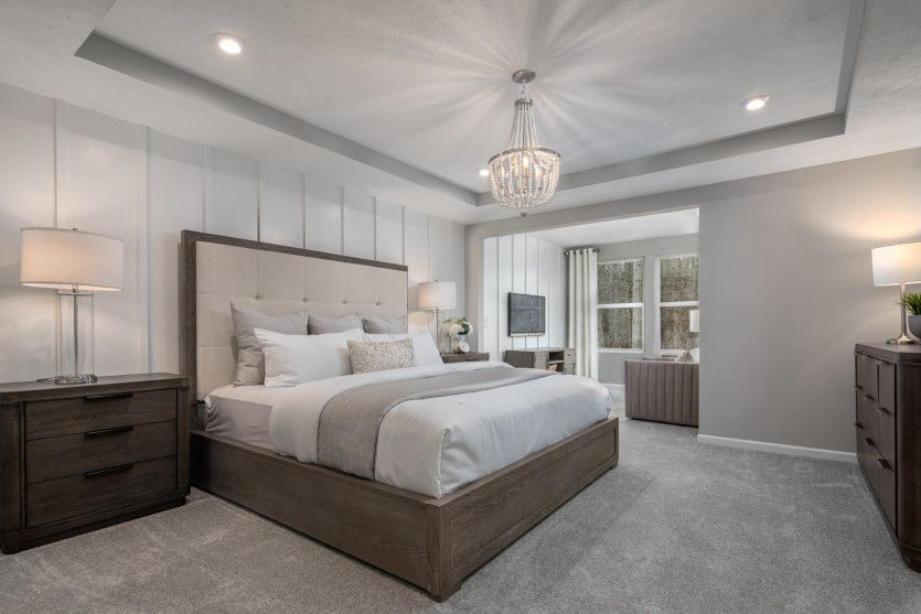 Bedroom featured in the Ashton By Pulte Homes in Cleveland, OH