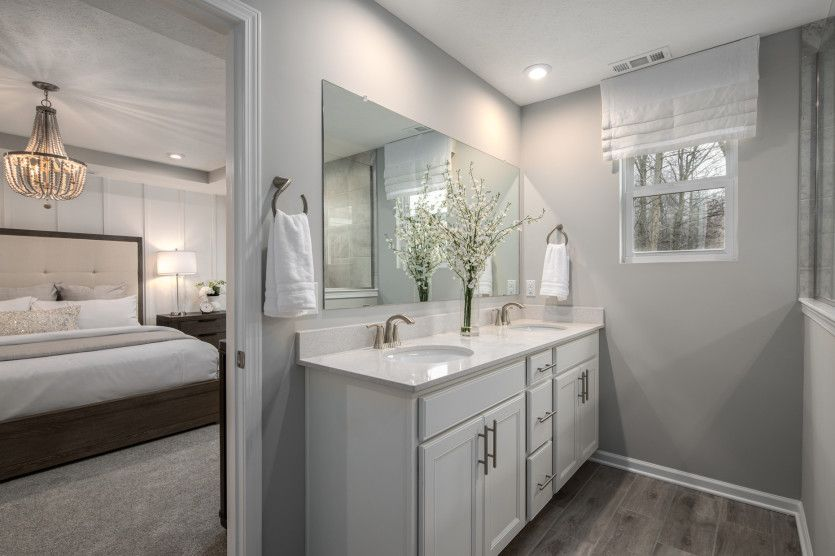 Bathroom featured in the Ashton By Pulte Homes in Cleveland, OH