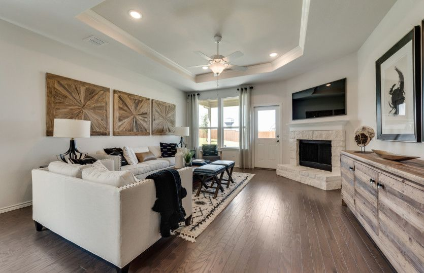 Living Area featured in the Eastgate By Pulte Homes in Fort Worth, TX