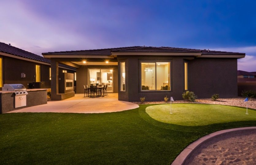 Exterior featured in the Manzanita By Pulte Homes in Albuquerque, NM