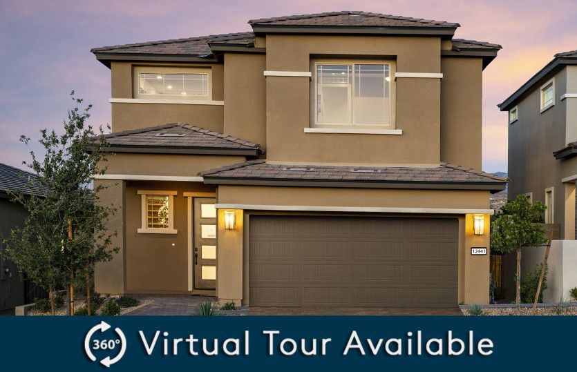 Exterior featured in the Modena By Pulte Homes in Las Vegas, NV