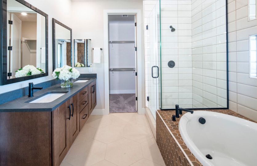 Bathroom featured in the Modena By Pulte Homes in Las Vegas, NV