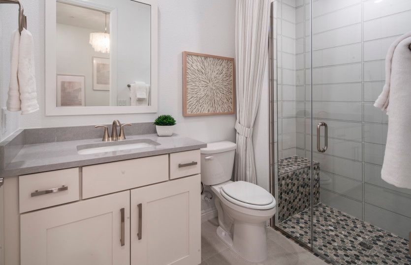 Bathroom featured in the Gardengate By Pulte Homes in Las Vegas, NV