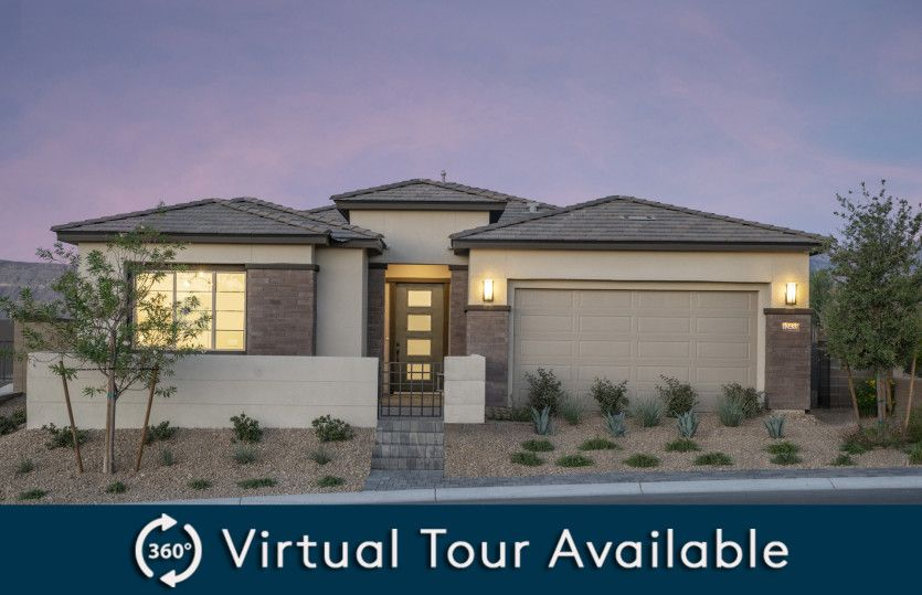 Exterior featured in the Parklane By Pulte Homes in Las Vegas, NV