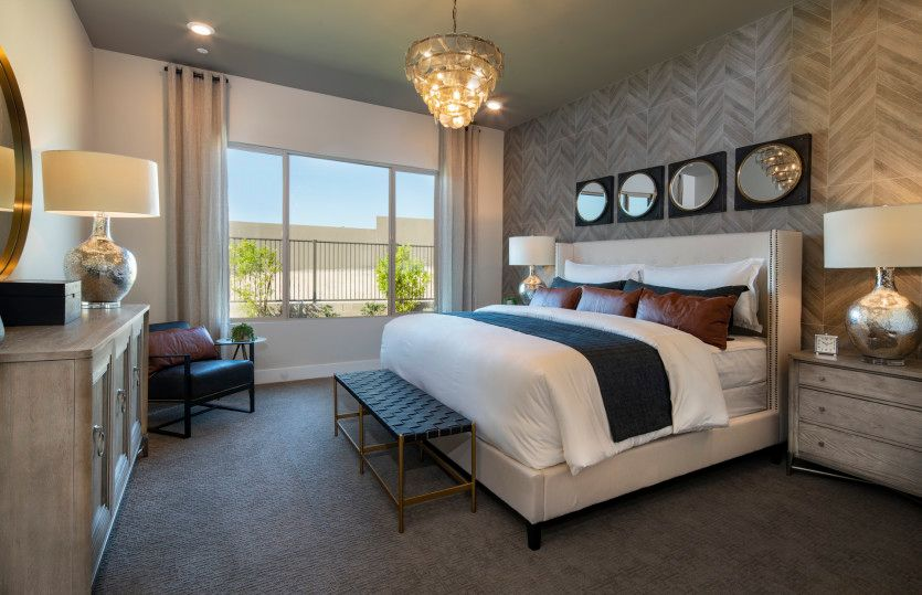 Bedroom featured in the Parklane By Pulte Homes in Las Vegas, NV