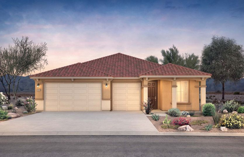 Exterior featured in the Cloverdale By Pulte Homes in Phoenix-Mesa, AZ
