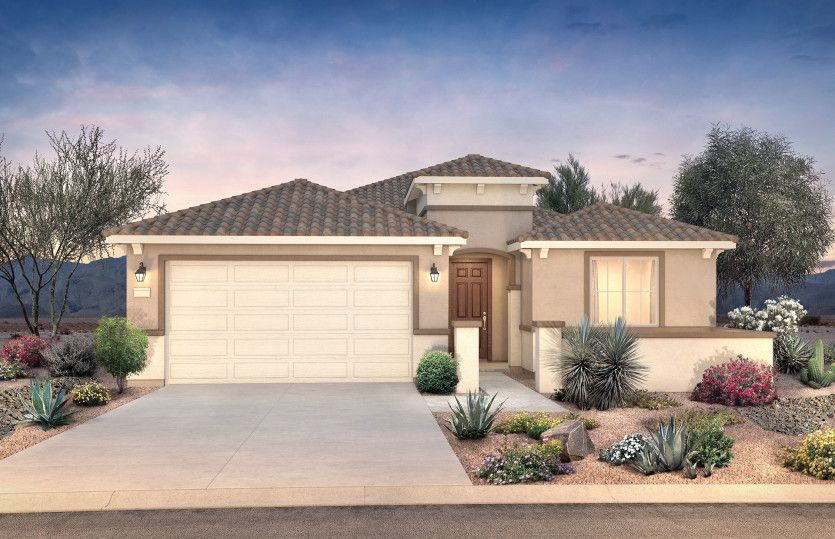 Exterior featured in the Cosenza By Pulte Homes in Phoenix-Mesa, AZ