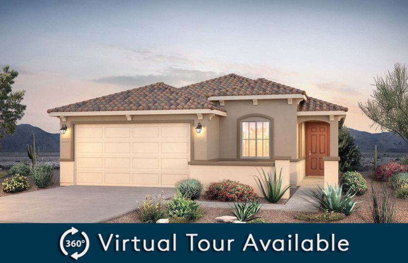 Exterior featured in the Farmington By Pulte Homes in Phoenix-Mesa, AZ