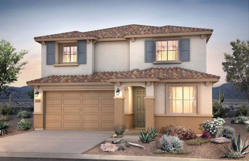 Exterior featured in the Fifth Avenue By Pulte Homes in Phoenix-Mesa, AZ