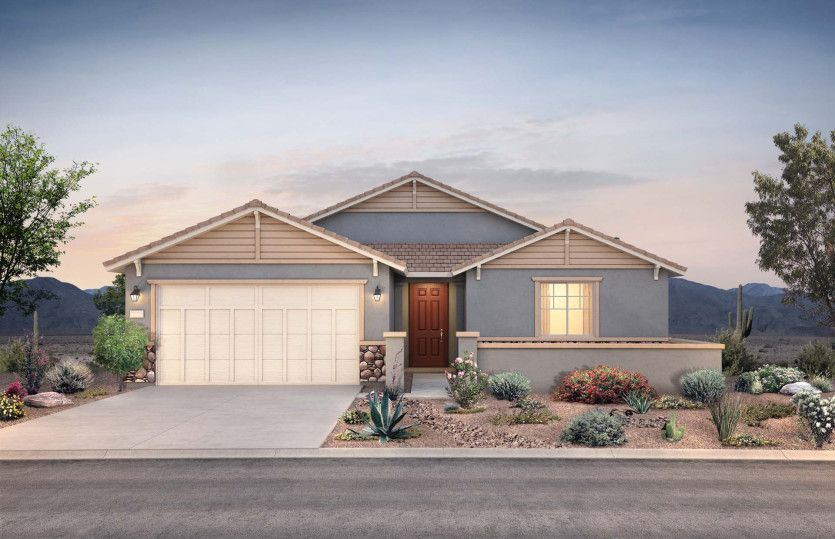 Exterior featured in the Gardengate By Pulte Homes in Phoenix-Mesa, AZ