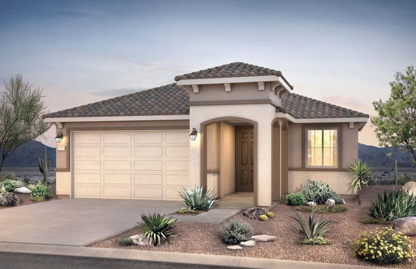 Exterior featured in the Hewitt II By Pulte Homes in Phoenix-Mesa, AZ