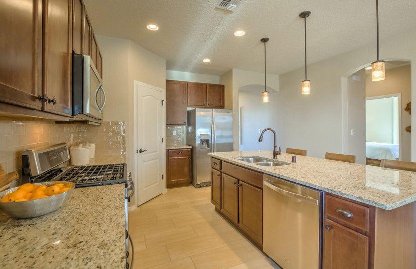 Kitchen featured in the Hewitt II By Pulte Homes in Phoenix-Mesa, AZ