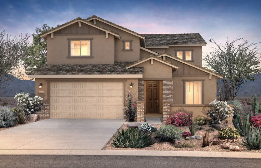 Exterior featured in the Prato By Pulte Homes in Phoenix-Mesa, AZ