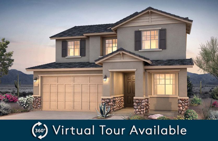 Exterior featured in the Sandalwood By Pulte Homes in Phoenix-Mesa, AZ