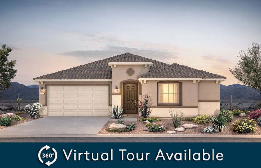Exterior featured in the Stella By Pulte Homes in Phoenix-Mesa, AZ