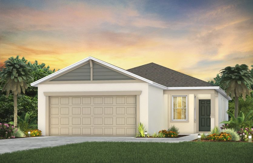 Exterior featured in the Collier By Pulte Homes in Orlando, FL