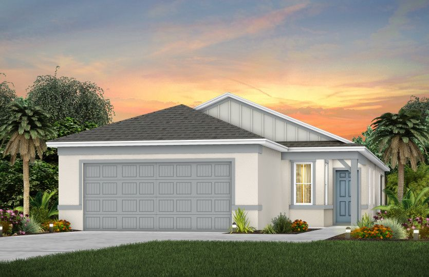 Exterior featured in the Daniel By Pulte Homes in Orlando, FL