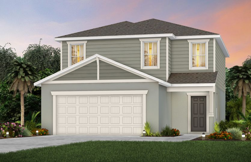 Exterior featured in the Hamden By Pulte Homes in Orlando, FL