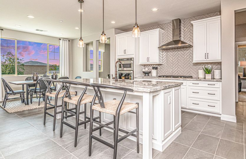 Kitchen featured in the Prodigy By Pulte Homes in Riverside-San Bernardino, CA