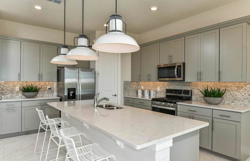 Kitchen featured in the Whitestone By Pulte Homes in Orlando, FL